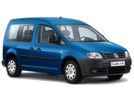 диски и шины на Volkswagen Caddy (вольцваген кадди)